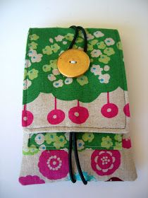Hello Beautiful: Cell phone pouch tutorial