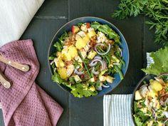 Lchf, Keto, Cobb Salad, Bacon, Food, Essen, Meals, Yemek, Pork Belly
