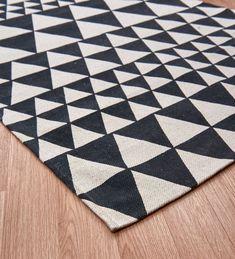 black and white triangle carpet at DuckDuckGo Black And White Carpet, Triangle, Contemporary, Home Decor, Decoration Home, Room Decor, Home Interior Design, Home Decoration, Interior Design