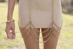 Giselle Chain Skirt