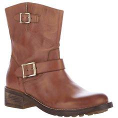 Chiara Ferragni biker boot ($129) found on Polyvore