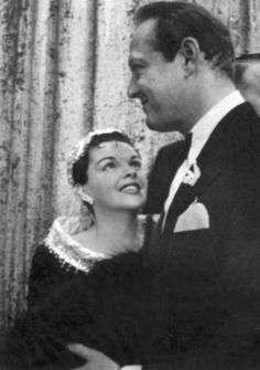 Judy with husband Sid Luft