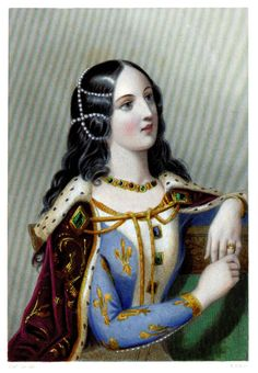Isabelle of Valois (1389-1409) Queen consort to: Richard II of England (1367-1400, ruled 1377-1399, deposed), son of Edward, the Black Prince   Married: October 31, 1396, widowed 1400 at age ten.  Coronation: January 8, 1397