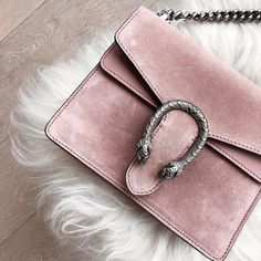 """16.3k Likes, 319 Comments - Marianna Hewitt (@marianna_hewitt) on Instagram: """"Starting to pack for #NYFW I think bringing this pink @gucci baby is a must """""""