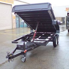 Blackburn Trailers sell the best Hydraulic Tipper Trailers in Melbourne. Hydraulic Ram, Best Trailers, Support Local Business, Get The Job, Getting Things Done, Breeze, Flexibility, Space, Big