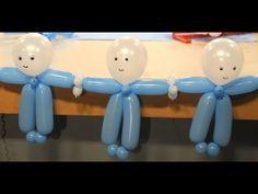 Decoración con globos para Baby Shower - Maricel Merigo - YouTube