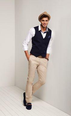 Men's casual style   Giovanni Bonamy for AVVA Spring Summer 2014