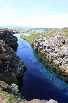 Swim Between Two Continents - Iceland