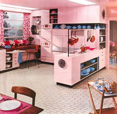 Living a pink life. Fifties style.