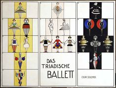 light color sound: Triadic Ballet