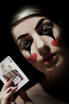 queen of hearts makeup ideas - Google Search