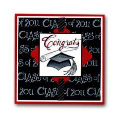 invitations, graduat card, book idea, card idea, craft ideascard, graduation cards, northwood congrat, card graduat, congrat graduat