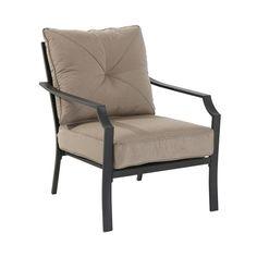 Garden Treasures 2-Count Steel Patio Conversation Chairs