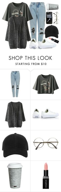 """""""Sin título #1258"""" by together-moon ❤ liked on Polyvore featuring Converse, rag & bone, Fitz & Floyd and Smashbox"""