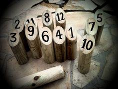 Molki, la pétanque finnoise... ou petit DIY à l'usage des lassés du cochonnet   Que ne serait l'Été avec un grand E sans...