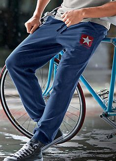 Converse Blue Jogging Pants | Shorts & Trousers | Mens | Swimwear365