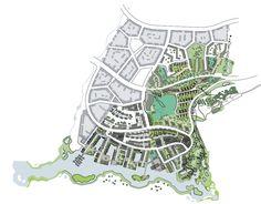 Ebbsfleet Valley, Thames Gateway. Framework by Spacecraft Architects.