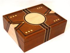 Art Deco Valet Box or Watch Box for Men: Gift for Him by DekoMuse