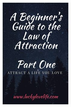 The Law of Attraction for Beginners. Attract the Live You Love, LOA, Manifesting, Abundance, Luck and Creating a life of opportunity.