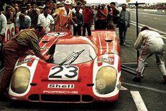 Hans Herrmann / Richard Attwood, #23 Porsche 917K (Porsche KG Salzburg), 24 Hours Le Mans 1970 (1st)