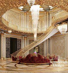 Unique Mansions Staircase Designs