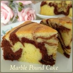 My Mind Patch: All-Natural Marble Pound Cake