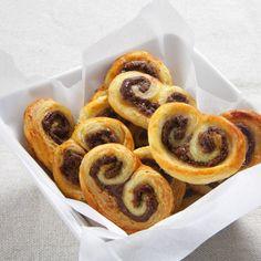 Un soltero en la cocina: Palmeritas de Nutella