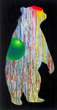 "Saatchi Art Artist Will Eskridge; Painting, ""Day Shift"" #art #contemporaryart #minimalism #bearart"