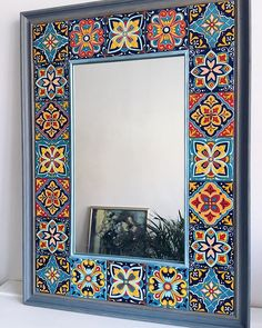 hippie style 234398355592794729 - Görüntünün olası içeriği: iç mekan Source by DemetYoung Home Decor Furniture, Painted Furniture, Diy Home Decor, Mirror Painting, Mirror Art, Stone Painting, Mirror Mosaic, Mosaic Art, Pottery Painting