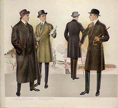 early 20th century men's fashion - Google Search
