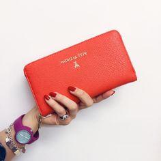 Portafogli PATRIZIA PEPE - Spedizione e reso GRATUITI - Altri accessori su manlioboutique.com #wallets #accessories #red