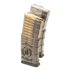 ETS AR15 Magazine, 30 Round, with Coupler Smoke - Chi-Town Tactical