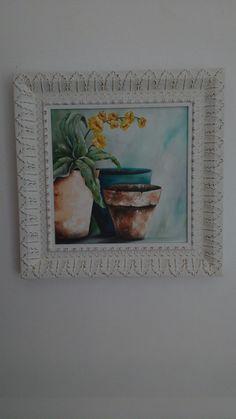 Série Flores do meu jardim  Artista plástica Cris Teles