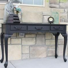 Well Designed Console Table with storage