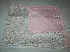 Carters Pink Leopard Baby Blanket Ruffle Trim Edge Polka Dot Soft Cotton Lovey #Carters Ruffle Blanket, Carters Just One You, Baby Leopard, Baby Blankets, Ruffle Trim, Polka Dots, Cotton, Baby Afghans, Polka Dot
