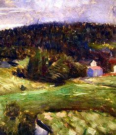 Landscape Edvard Munch - 1890