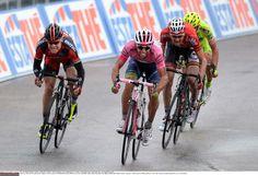 Giro d'Italia 2014 - Stage 6 - Michael Matthews (Orica GreenEdge) sprints toward the finish