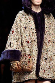 Details at Dolce & Gabbana RTW F/W 2014