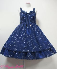 Angelic Pretty - Cosmic JSK in navy  <3  omg it's super pretty