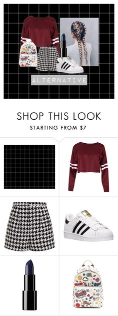 """""""Alternative"""" by yess0616 on Polyvore featuring moda, Emma Cook, adidas y Anya Hindmarch"""