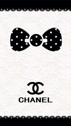 Chanel Bows 2 WallpapersChanel BackgroundIphone
