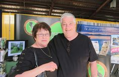Photo by Jacque Jabs/Special to the Record Searchlight.  Linda and Vince Lowther of Redding attend the Nor-Cal Boat, Sport and RV Show on Sunday at Shasta District Fair grounds in Anderson.