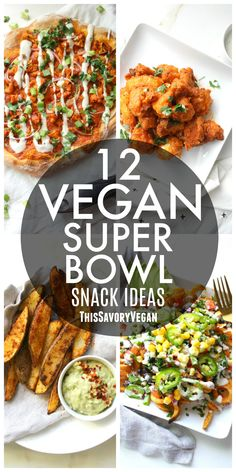 Get ready for the big game with these 12 Vegan Super Bowl Snack Ideas. From dips to wings, this list has got you covered!