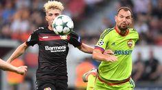 Bayer Leverkusen igualó 2-2 con CSKA Moscú por el grupo E de la UEFA Champions League