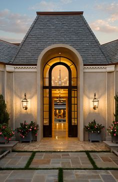 Gorgeous luxury front door entrance. Perfect curb appeal!
