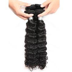 【Fashion Hairstyle For Black Girls】Allovehair Boutique Brazilian Deep Wave Virgin Human Hair Bundles sew in hair extensions Malaysian Deep Wave, Brazilian Deep Wave, Sew In Hair Extensions, Hair Weft, Weave Hairstyles, Black Girls, Boutique, Hair Styles, Fashion