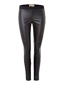 Michael Kors Leather Look Front Legging £115.00