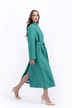 Cashmere Coat, Straight Cut, Wool Coat, Coats For Women, Peppermint, Clarity, Indigo, Duster Coat, Winter Fashion