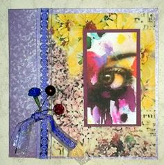 Window to the Soul Card  by Valerie Tupps  for Gecko Galz