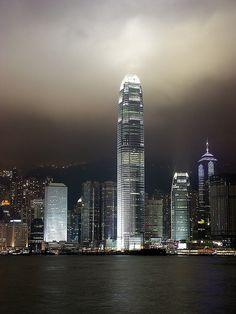 Hong Kong Skyline by nerv333, via Flickr